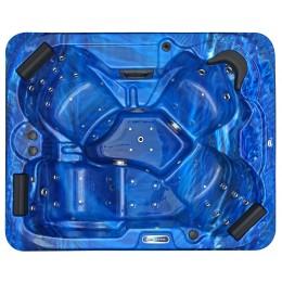 Jacuzzi spa extérieur SPAtec 500B bleu