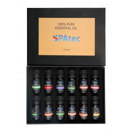 Aromathérapie : pack de 12 arômes (baignoire Spatec)